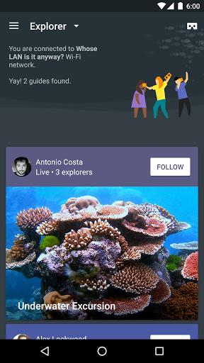 google exploration for android - Tổng hợp 10 ứng dụng hay và miễn phí trên Android ngày 20.4.2017