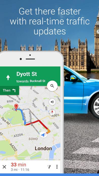 google maps ios - Tổng hợp 32 ứng dụng hay và miễn phí trên iOS ngày 21.4.2017 (phần 2)