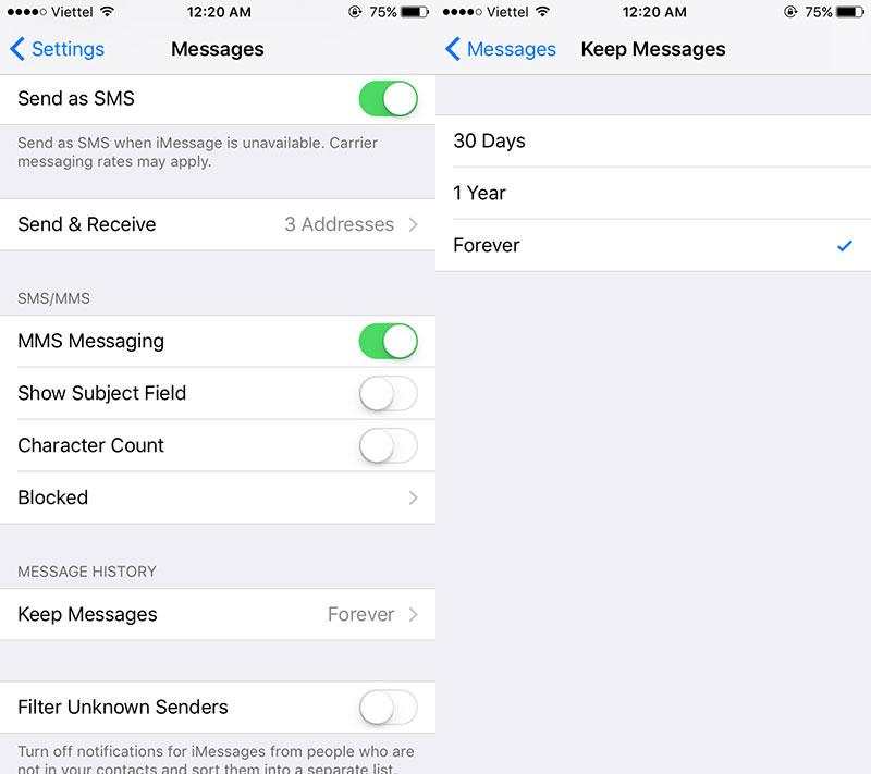 """ios 01 - 9 """"tuyệt chiêu"""" lấy lại dung lượng lưu trữ cho iPhone/iPad (P1)"""