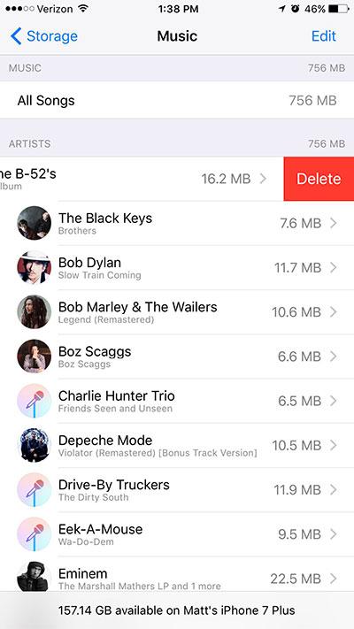 """ios 07 - 9 """"tuyệt chiêu"""" lấy lại dung lượng lưu trữ cho iPhone/iPad (P2)"""
