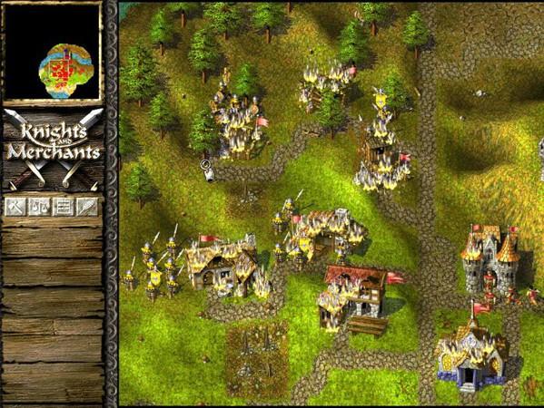 knights and merchants 1 - Game cũ mà hay - Knights & Merchants: The Peasants Rebellion