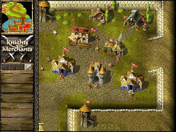 knights and merchants 3 - Game cũ mà hay - Knights & Merchants: The Peasants Rebellion