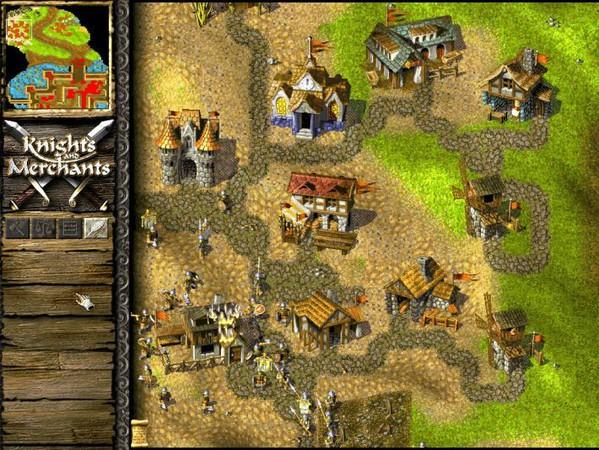 knights and merchants 4 - Game cũ mà hay - Knights & Merchants: The Peasants Rebellion