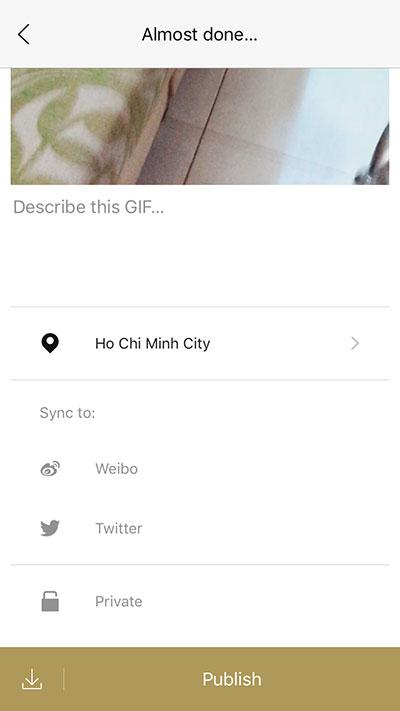 onetake 04 - Onetake: Chụp ảnh GIF nghệ thuật trên iOS