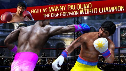 real boxing manny pacquiao ios - Tổng hợp 32 ứng dụng hay và miễn phí trên iOS ngày 21.4.2017 (phần 2)