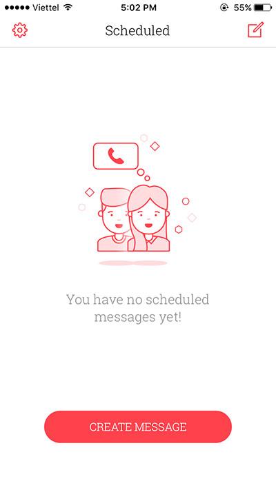 scheduled 03 - Hướng dẫn cách hẹn giờ gửi tin nhắn tự động trên iPhone