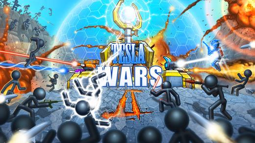 tesla wars 2 ios - Tổng hợp 21 ứng dụng hay và miễn phí trên iOS ngày 20.4.2017
