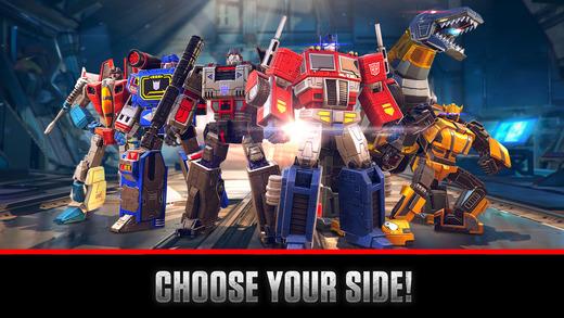 transformers arth wars ios - Tổng hợp 21 ứng dụng hay và miễn phí trên iOS ngày 20.4.2017 (phần 2)