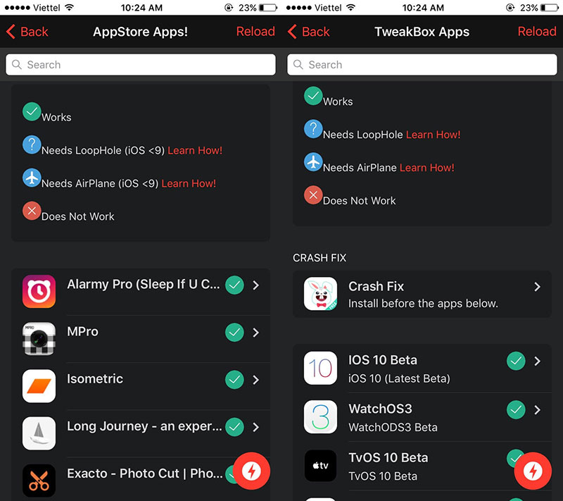 TweakBox: Cài game, app bản quyền mà không cần jailbreak