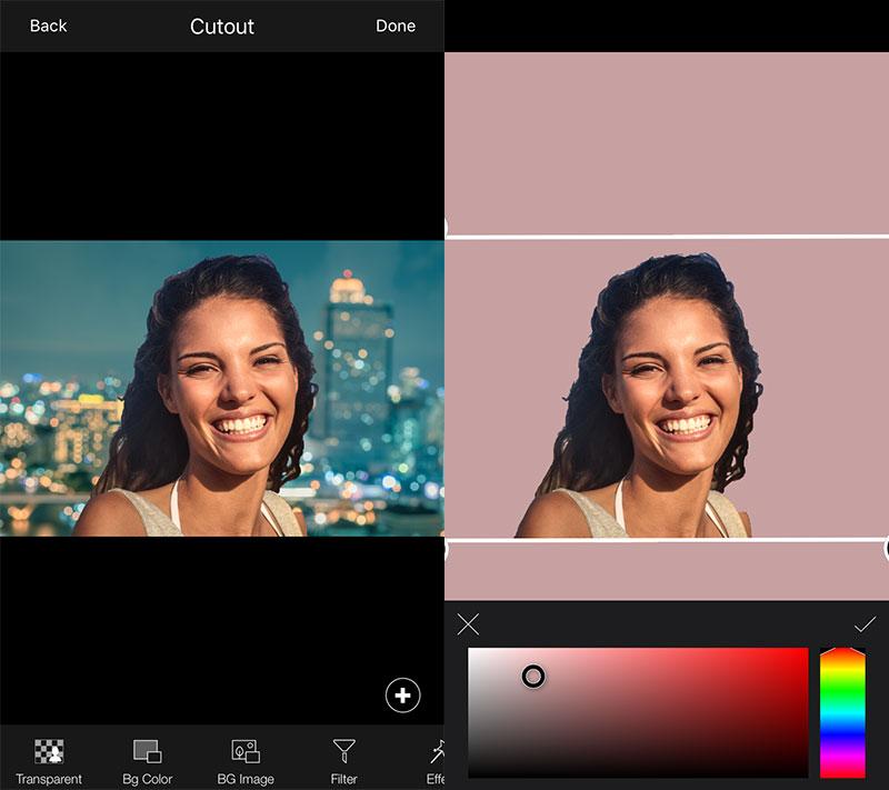 lightx cutout 02 - LightX: Sửa ảnh chuyên nghiệp trên iOS