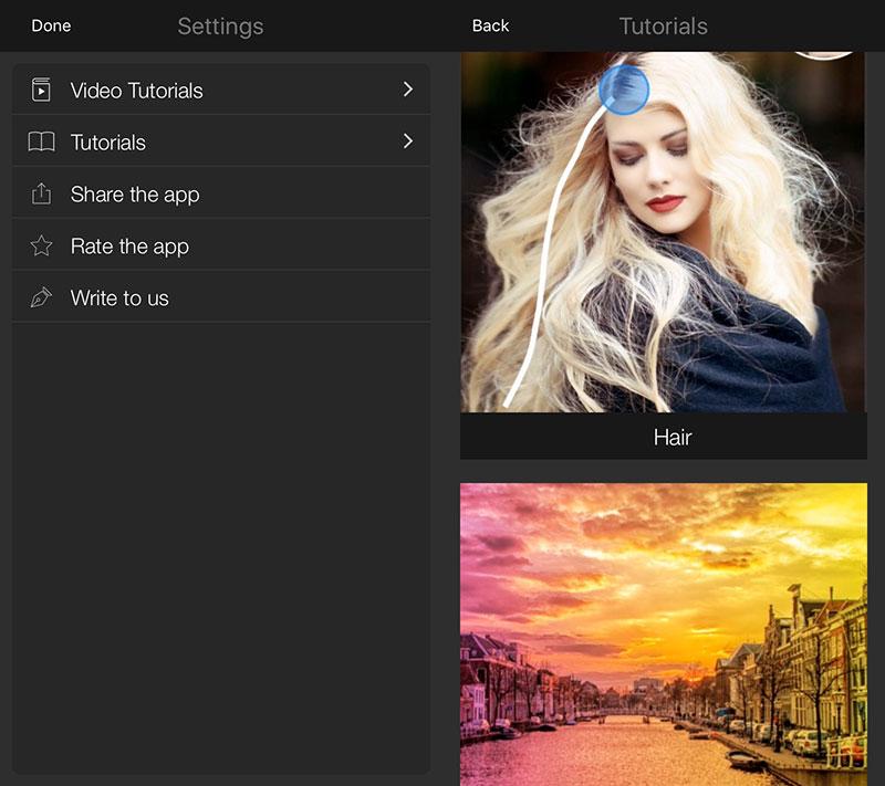 lightx tutorial - LightX: Sửa ảnh chuyên nghiệp trên iOS