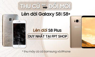FPT Shop 400x240 - FPT Shop cho đổi điện thoại Samsung và iPhone cũ lấy Galaxy S8/S8+ mới