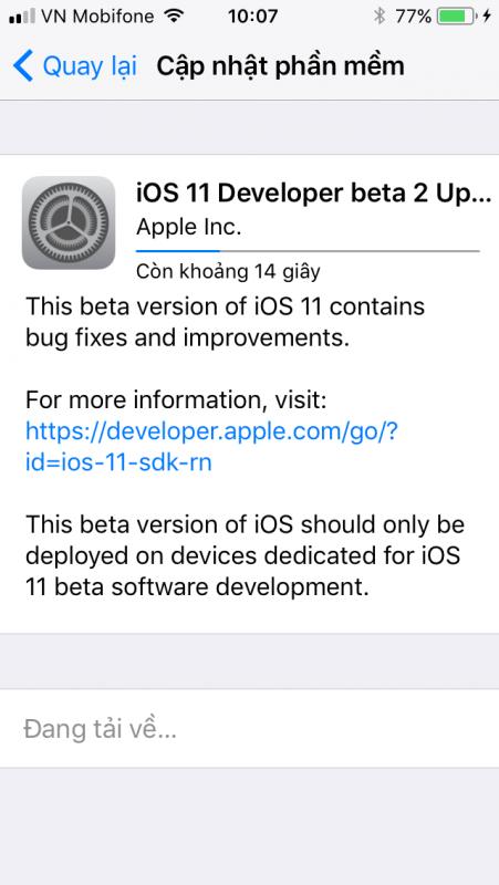 IMG 0214 451x800 - Đã có iOS 11 public beta, mời bạn tải về