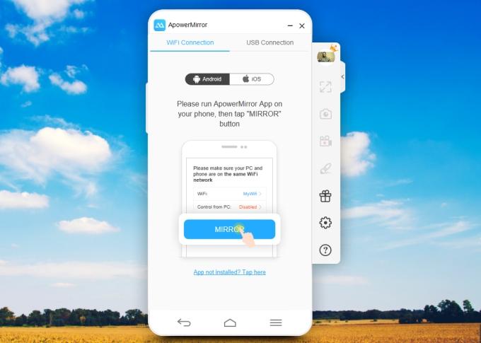 apowermirror 1 - Mời bạn tải về ứng dụng quay màn hình iOS và Android trị giá 69,95USD