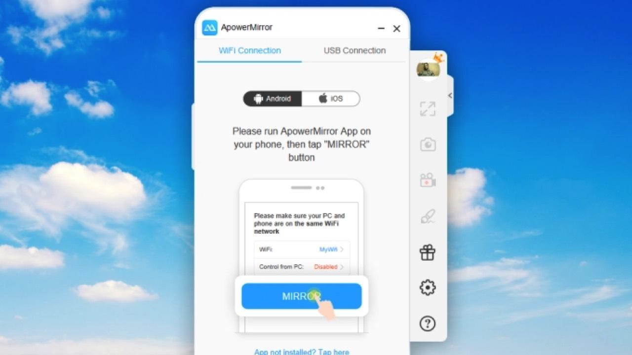 apowermirror featured - Mời bạn tải về ứng dụng quay màn hình iOS và Android trị giá 69,95USD