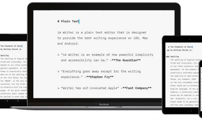 iA Writer 400x240 - Hướng dẫn soạn thảo văn bản đơn giản và nhanh trên Android