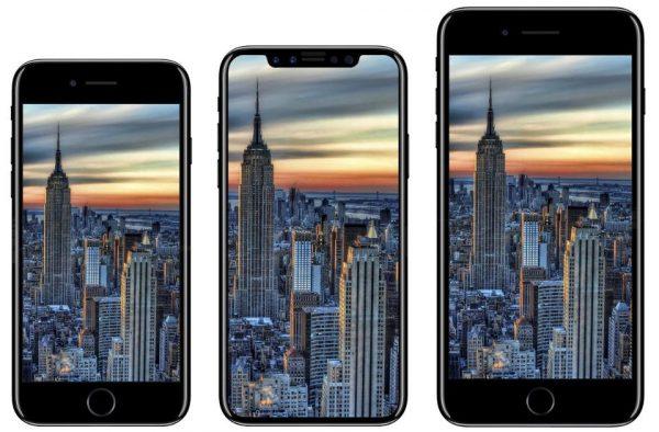 """iPhone X 600x394 - Apple lại bị """"rò rỉ"""" thông tin về iPhone mới, có thể là iPhone X"""
