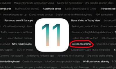 quay man hinh ios 11 featured 400x240 - 4 vấn đề cần biết về bản iOS 11 vừa ra mắt