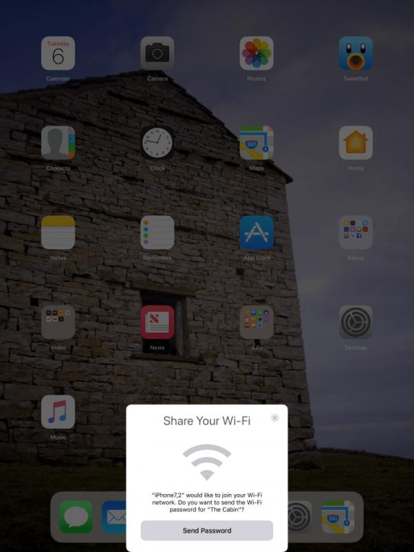 share wifi ios 11 600x800 - Tổng hợp 80 thủ thuật iOS 11 mới nhất (phần 1)