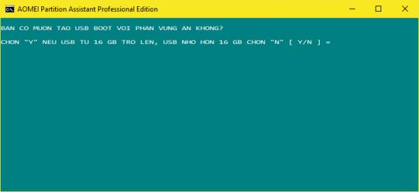 1 Click - Tạo USB boot đa năng