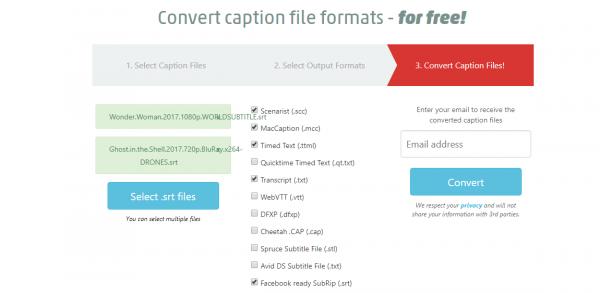 Caption Converter: chuyển đổi phụ đề dễ dàng