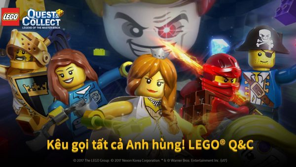 """A7 600x338 - Nexon ra mắt game mobile """"LEGO Quest & Collect"""""""