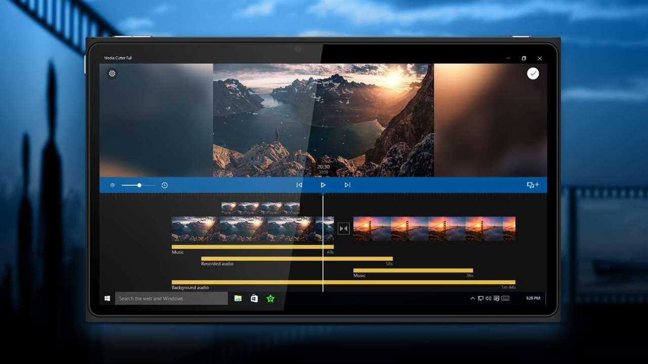Media Cutter FULL - Làm video trên máy tính chạy Win 10 miễn phí với Media Cutter FULL