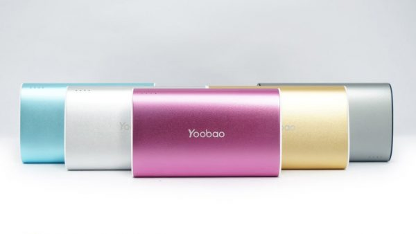 Yoobao 10200mAh 600x338 - Top 5 pin sạc dự phòng tốt cho iPhone