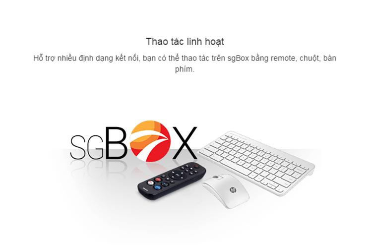 sgbox 1 - Đánh giá nhanh sgBox: Android TV box giá rẻ đang khuyến mại lớn