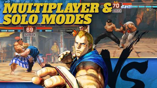 street fighter iv champion edition 1 - Street Fighter IV Champion Edition bất ngờ ra mắt trên iOS