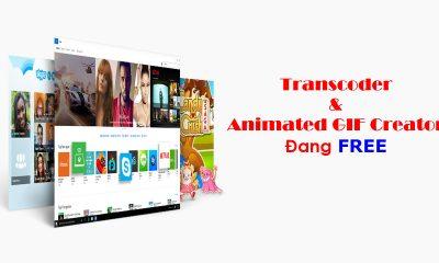 transcoder 400x240 - Nhanh tay tải 2 ứng dụng tạo ảnh động GIF và chuyển đổi nhạc, video đang miễn phí trên Windows 10