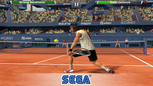 "virtua tennis challenge 1 - SEGA tặng game ""khủng"" Virtua Tennis Challenge, mời bạn tải về"