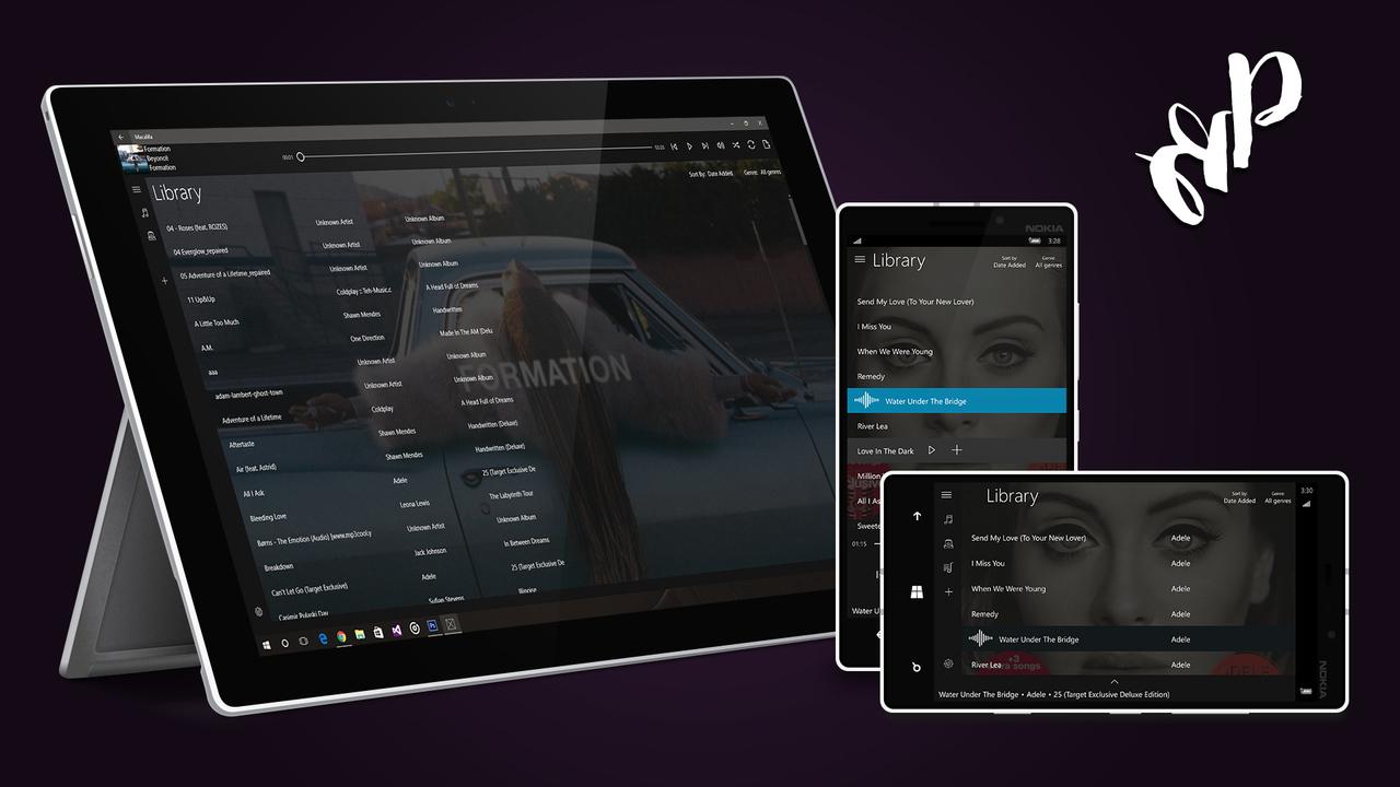 Bread Player - Bread Player: Ứng dụng nghe nhạc Windows 10 hỗ trợ công cụ Equalizer