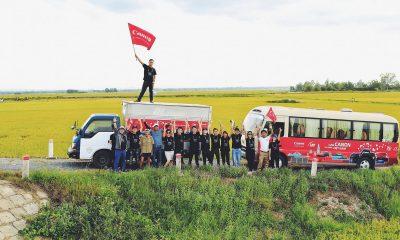 """Canon Bus Journey 03 400x240 - Canon tổ chức chuyến xe """"Hành trình lan tỏa niềm vui"""""""
