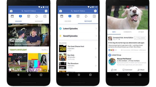Facebook watch - Facebook Watch là gì?