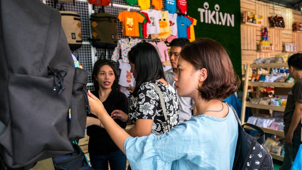 """Hinh2 - Tiki tham gia """"Hội tụ hàng Việt"""" với nhiều sản phẩm giá mềm"""