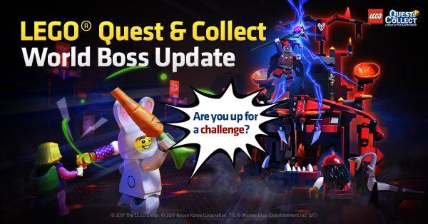"""Game mobile """"LEGO Quest & Collect"""" có thêm nội dung mới: Đột kích Boss thế giới"""