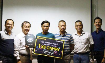 TGDD 400x240 - Thế Giới Di Động trao thưởng Camry 1,1 tỷ đồng cho khách mua Samsung