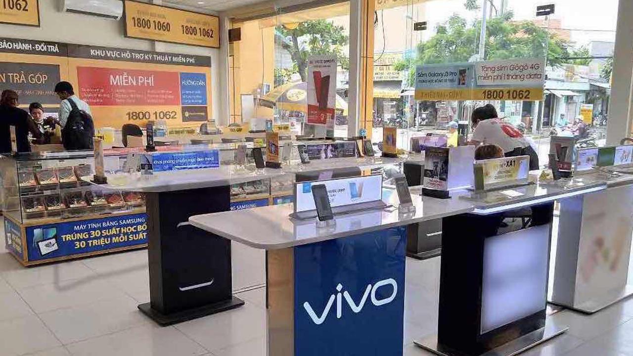 Vivo TGDD 1 - Vivo chính thức hợp tác với Thế Giới Di Động