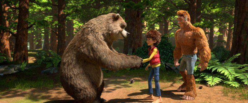 bo to la chan to 1 800x335 - Đánh giá phim Bố tớ là Chân To - The son of Bigfoot