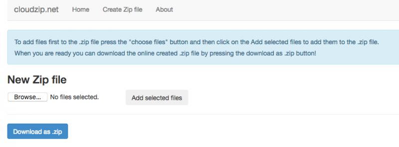 cloudzip 800x296 - Ba dịch vụ nén và giải nén file trực tuyến