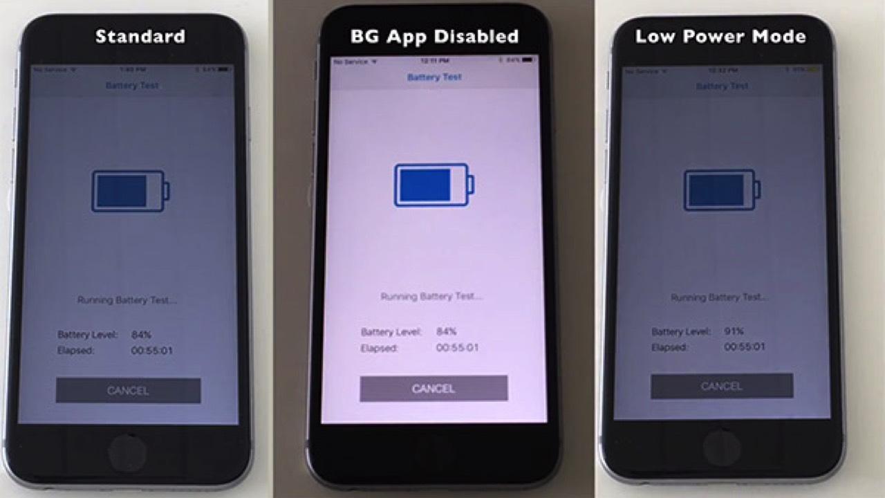 ios 10.3.3 battery test featured - So sánh thời lượng pin giữa các chế độ trên iOS 10.3.3