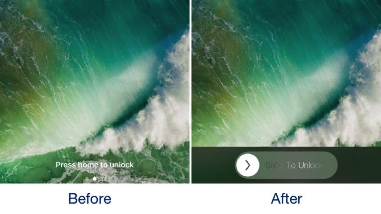 slidetounlock featured - Đã có cách đem Slide to Unlock lên iOS 10