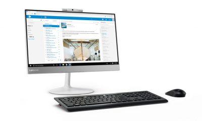 02 v410z aio 21.5inch hero kb mouse front facing left outlook 400x240 - Lenovo ra mắt loạt máy tính để bàn AIO dành cho doanh nghiệp
