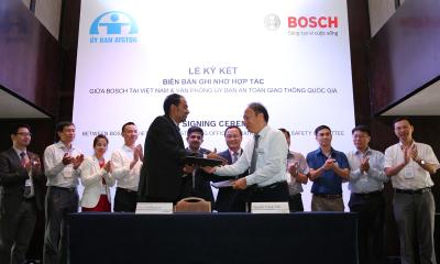 Bosch MOU NTSC resize 400x240 - Bosch hợp tác cùng VPUBATGTQG nghiên cứu an toàn giao thông và an toàn xe