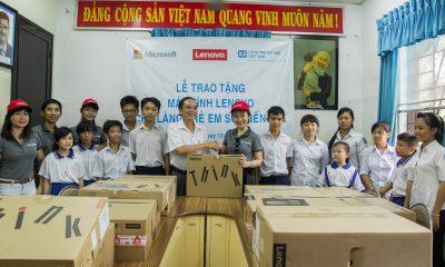 IMG 6130 400x240 - Lenovo và Microsoft tài trợ máy tính cho Làng trẻ em SOS Bến Tre