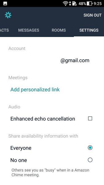 Screenshot 20170926 092528 338x600 - Trải nghiệm sử dụng Amazon Chime