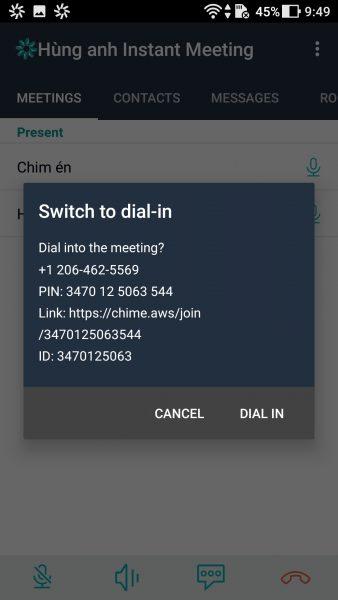 Screenshot 20170926 094946 338x600 - Trải nghiệm sử dụng Amazon Chime