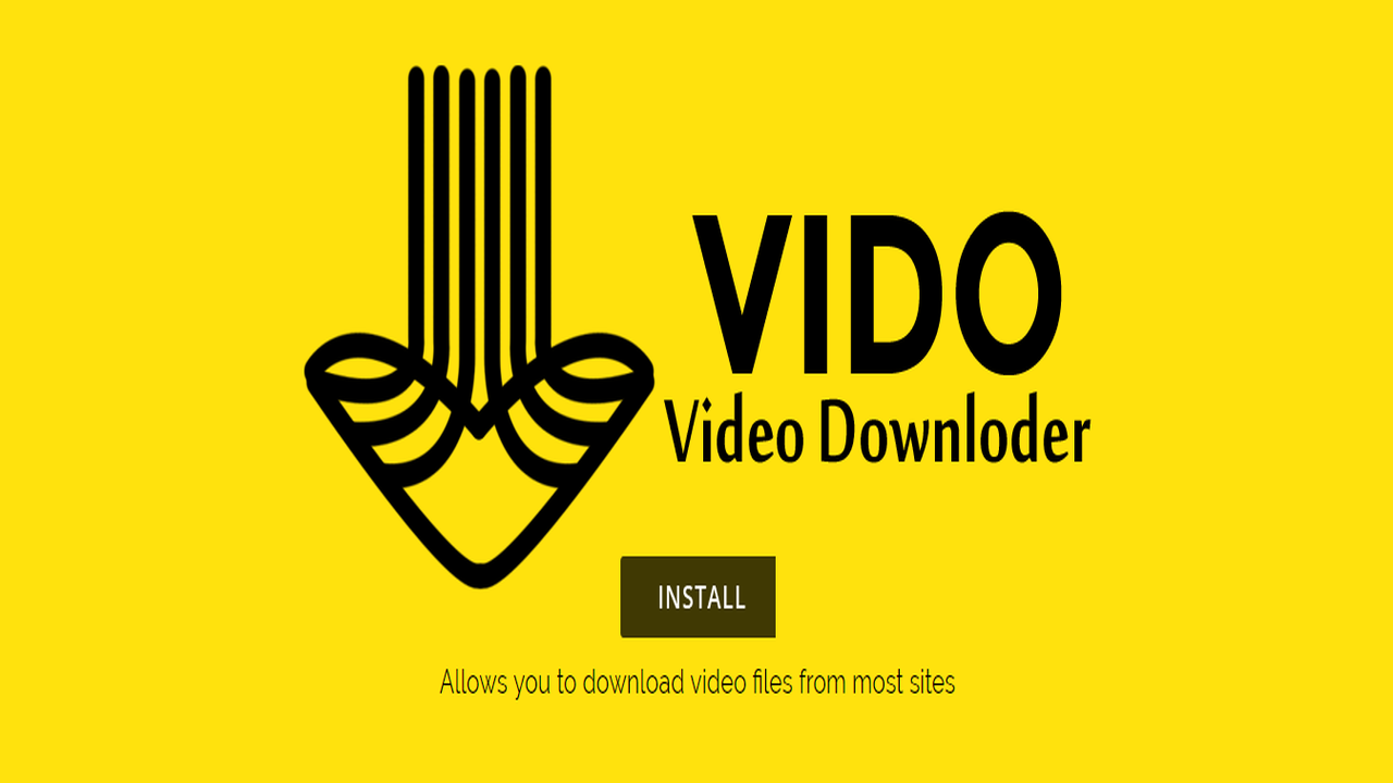 Vido – Video Downloader - Tiện ích Chrome tải phim nhạc trên Zing TV, HDOnline, Nhaccuatui,...