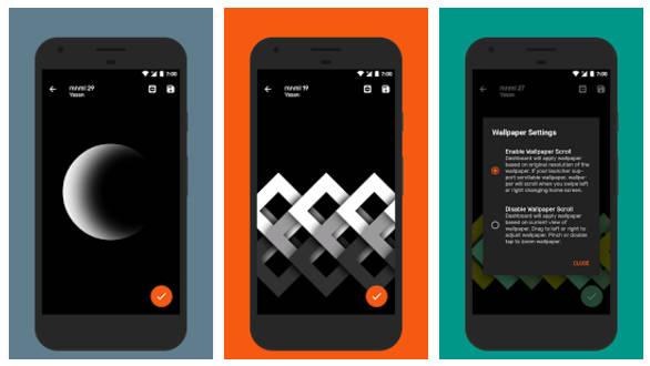 amoled mnml - 7 ứng dụng và game Android hay nhất tuần (Tháng 9 #1)